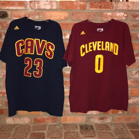 best service 98f61 29f1f Cleveland Cavaliers LeBron James Kevin Love Shirts